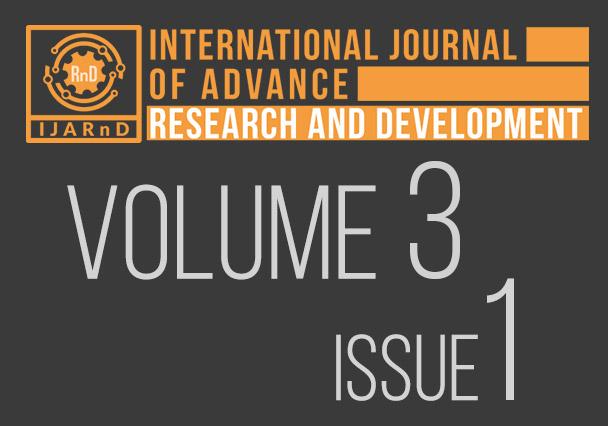 Volume 3, Issue 1 - IJARnD